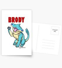 Brody the Hammer Wawg Postcards