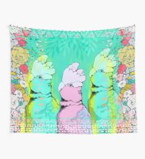 Springtime Galahs Wall Tapestry