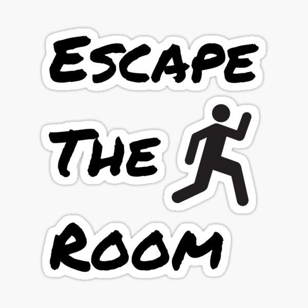 Escape The Room Sticker