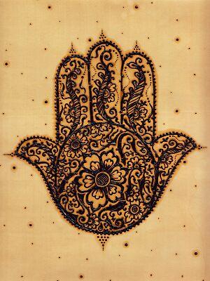 Khamsa - Hand of Fatima  by Humna