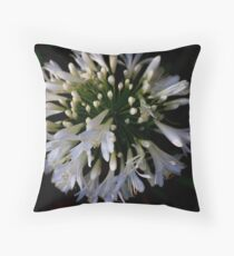 Agapanthus Throw Pillow