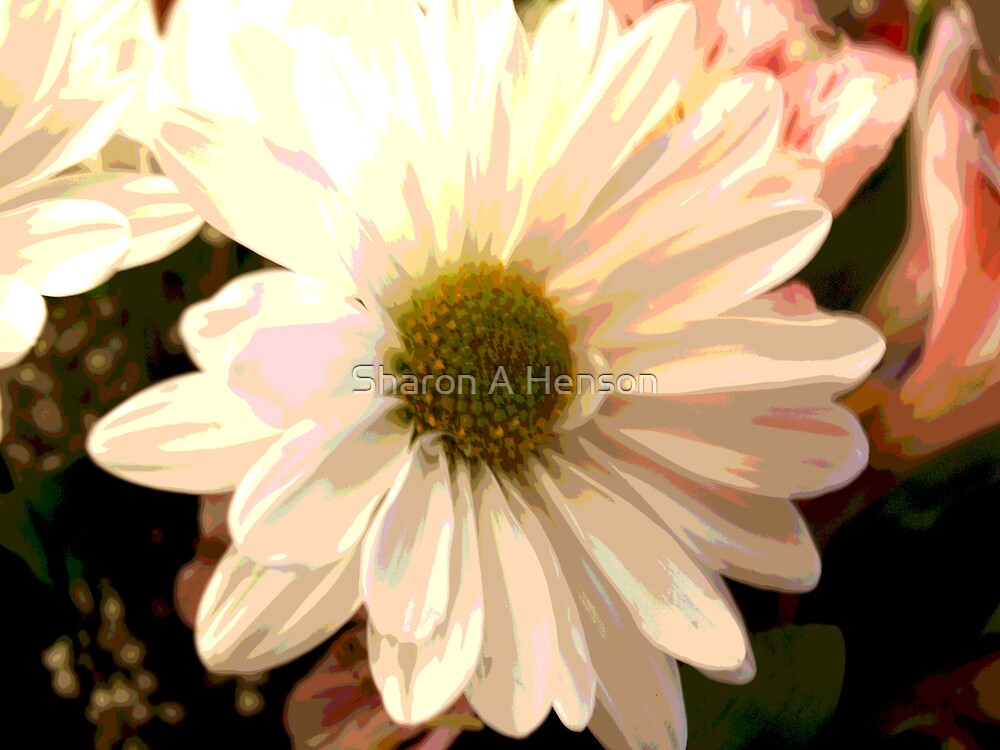 ABSTRACT DAISY by Sharon A. Henson