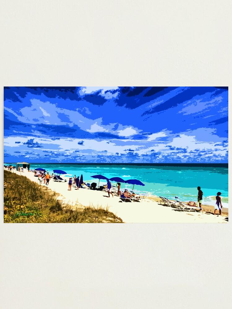 Alternate view of Miami Beach Photographic Print