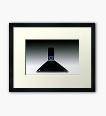 Cell Phone Aroma Abstract Framed Print