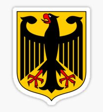 Germany Coat of Arms Eagle Sticker