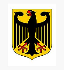 Germany Coat of Arms Eagle Photographic Print