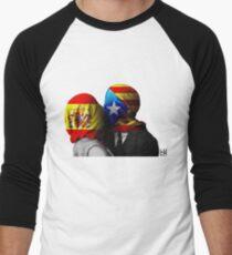 España y Cataluña Men's Baseball ¾ T-Shirt