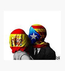 España y Cataluña Photographic Print