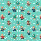 Shiba Pattern by vannesaco