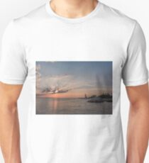 Sunbeams at Annisquam lighthouse T-Shirt