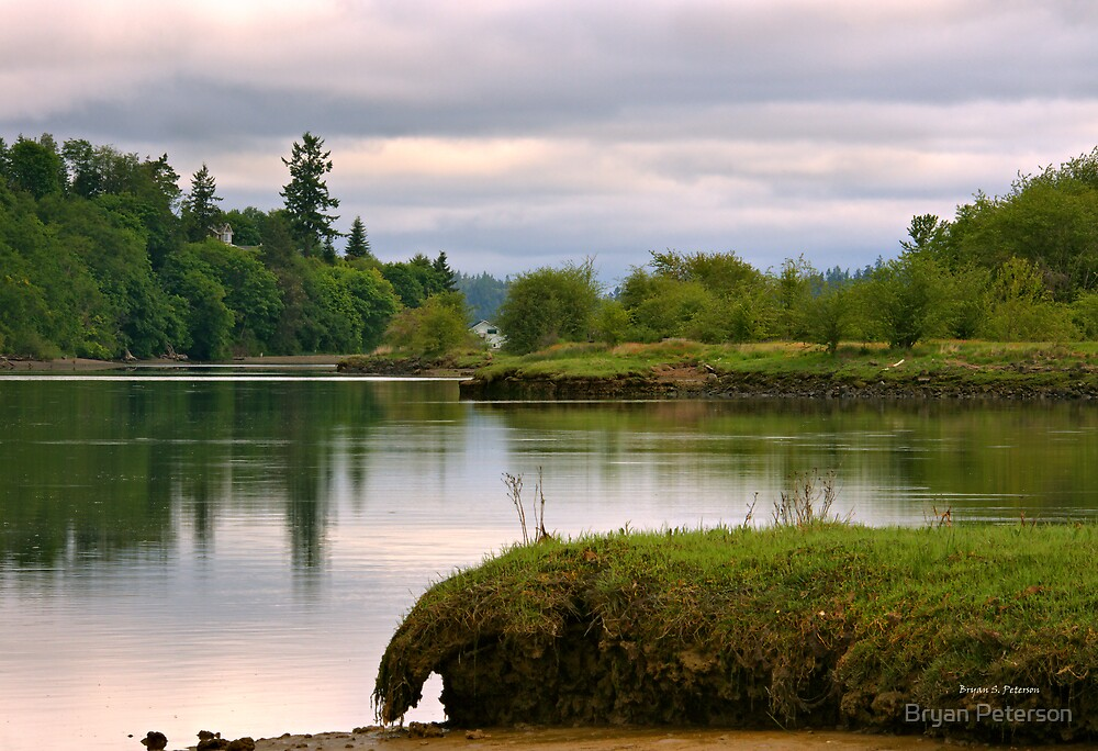 High Tide in the Estuary by Bryan Peterson