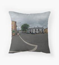 Carrick Crossroads, Donegal(Rectangular)  Throw Pillow