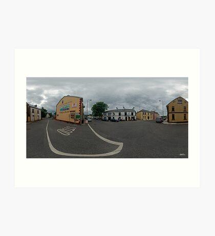 Carrick Crossroads, Donegal(Rectangular)  Art Print