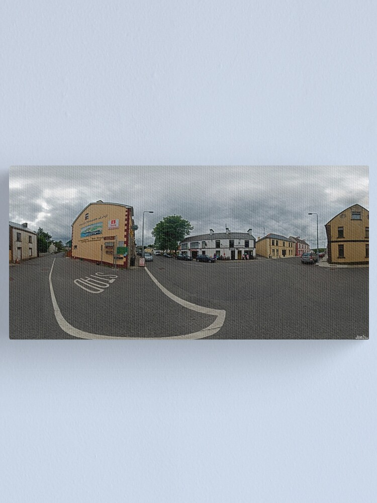 Alternate view of Carrick Crossroads, Donegal(Rectangular)  Canvas Print