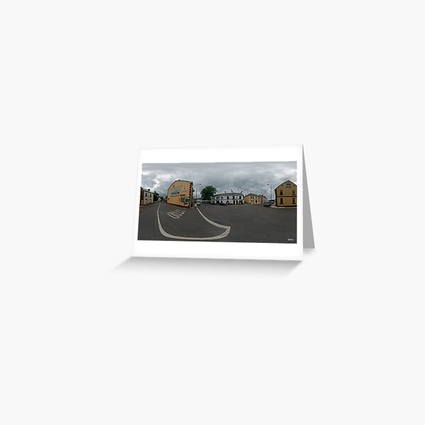 Carrick Crossroads, Donegal(Rectangular)  Greeting Card