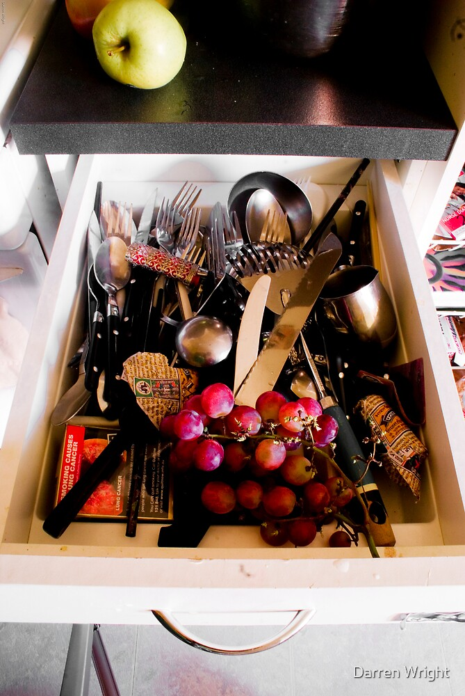 Cutlery Drawer Of An Anarchist by Darren Wright