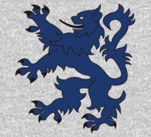 Rampant Lion Blue