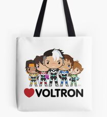 Love Voltron  Tote Bag