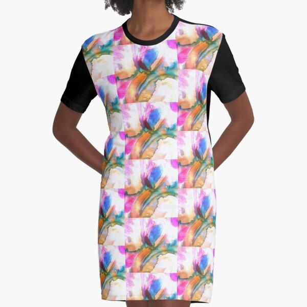 prettyflamingopink Graphic T-Shirt Dress