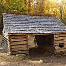 Jim Bales Corn Crib by Gary L   Suddath