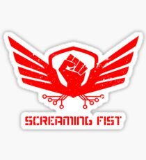 Operation Screaming Fist Insignia Sticker