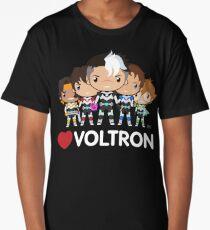 Love Voltron Long T-Shirt