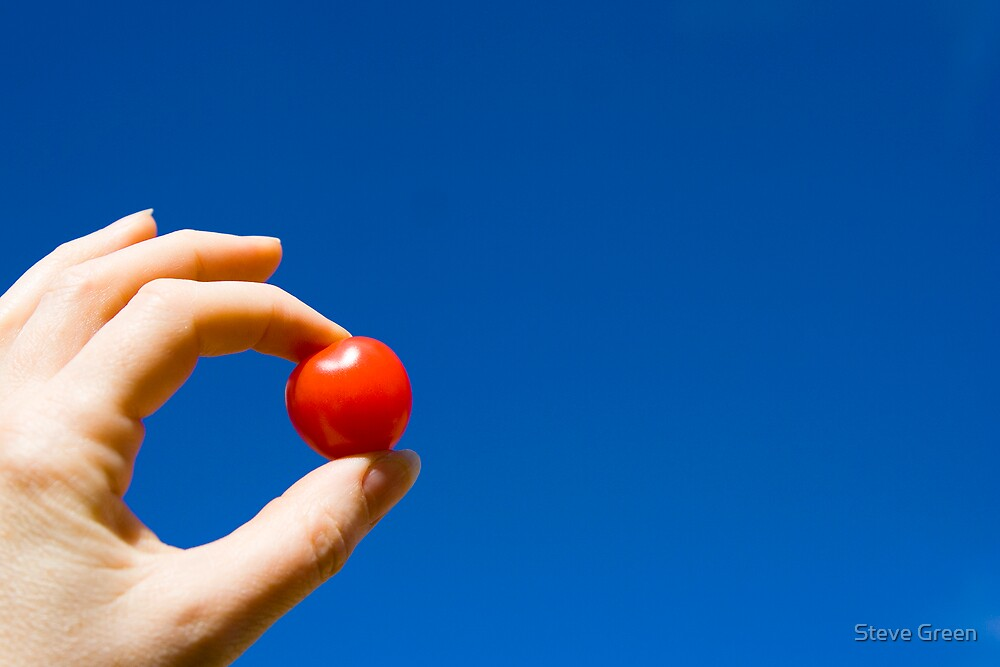 Cherry Tomato by Steve Green