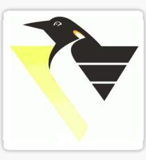 Gradient Robo Penguin Sticker