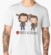 Love Moose & Squirrel - Supernatural Men's Premium T-Shirt