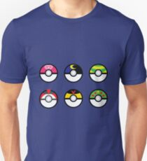 Pokeball Set 3 T-Shirt