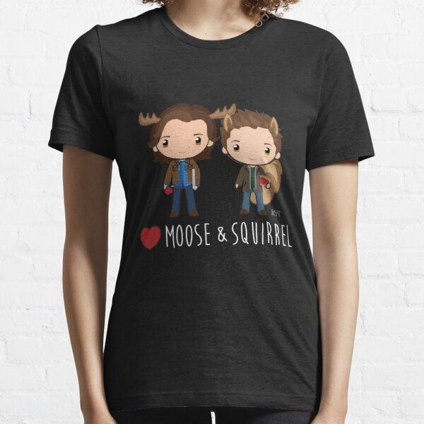 Love Moose & Squirrel - Supernatural Essential T-Shirt