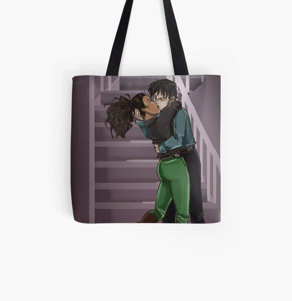 The Kiss All Over Print Tote Bag