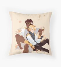 The Gold Between Us Throw Pillow