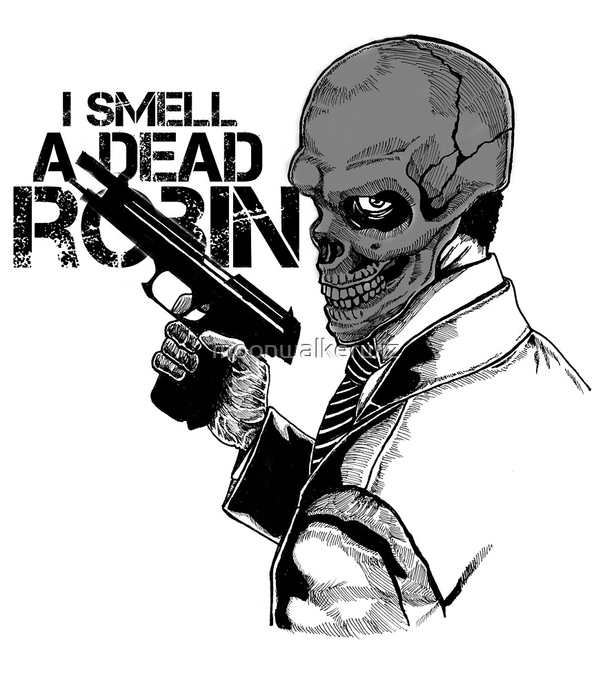 Black Mask: I Smell A Dead Robin by moonwalkerwiz