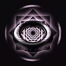 Black & White Reflection Ring Pattern by fantasytripp