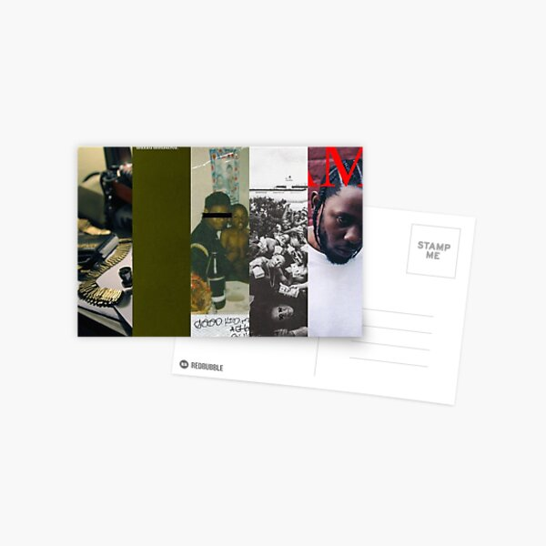 Kendrick lamar Postcard