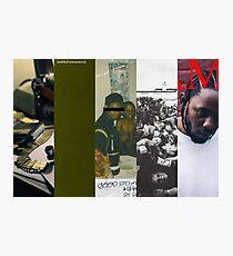 Lámina fotográfica Kendrick Lamar