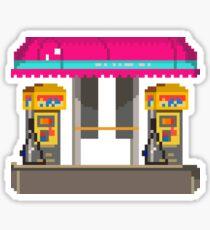 Car Vacuum Pixel Art Sticker
