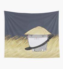 Samurai Bun Wall Tapestry