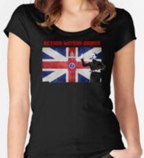 Oswald Mosley - BUFWAVE Women's Fitted Scoop T-Shirt
