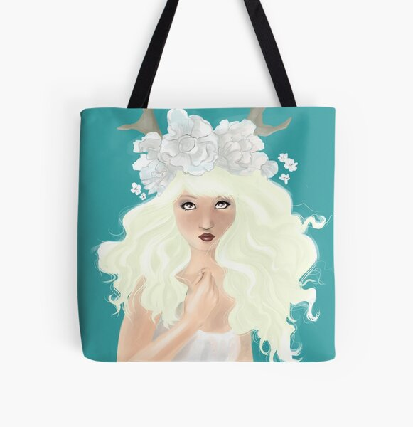 Maythorne All Over Print Tote Bag