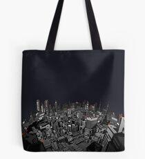 The city at night Tote Bag