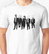 reservouir villains warriors from saiyans saga suits movie tarantino T-Shirt