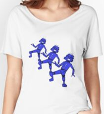 Dancing Robot Trio   Women's Relaxed Fit T-Shirt