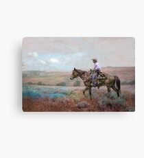 Nevada Cowboy Canvas Print