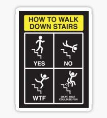 Stair Safety Sticker