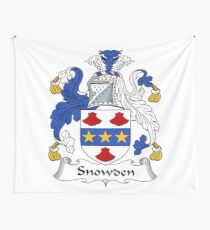 Snowden or Snowdon Wall Tapestry