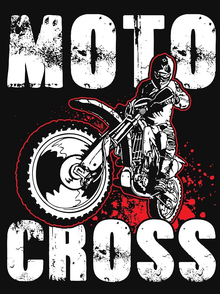 Motocross Shirt by WarmfeelApparel