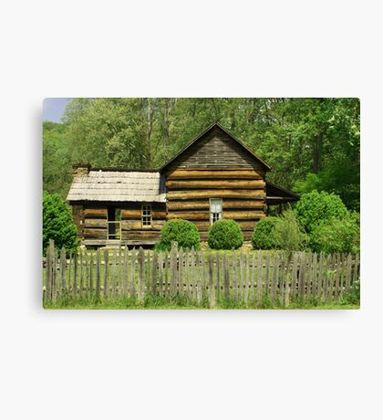 Davis-Queen House Canvas Print