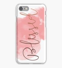 Blessed #redbubble #lifestyle iPhone Case/Skin